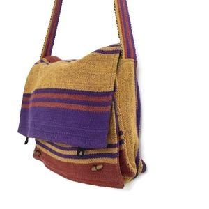 Boho Handmade Cotton Messenger Bag A2-380